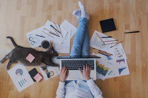 Kreativ Agiles Arbeiten - Homeoffice
