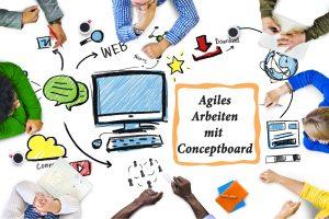 Agiles Arbeiten mit Conceptboard