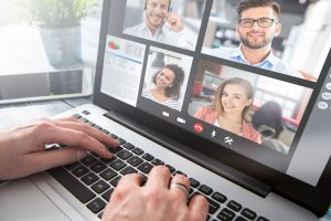 Arbeiten mit Zoom Conferencing